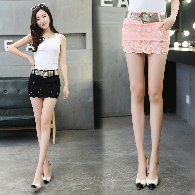 2018 Summer New Mini Skirt Female  Thin Wild Sexy Bag Hip Slim Skirt