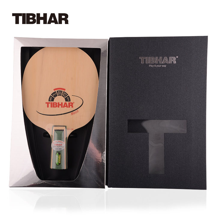 TIBHAR MATCH Table Tennis Blade Racket Ping Pong Bat Tenis De Mesa hrt ebony nct vii ebony vii ebonyvii table tennis ping pong blade
