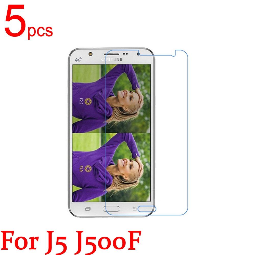 5pcs Ultra Clear/Matte/Nano LCD Screen Protector Film Cover For samsung Galaxy J1 J2 5 J7 J100F J200F J500F J700F J1 ACE Film