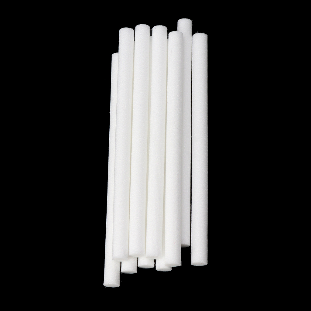 10mmx170mm Cotton Swab For Air Humidifier 10 PCS For Car Diffuser Aroma Diffuser Humidifiers Filters Can Be Cut Replace Parts