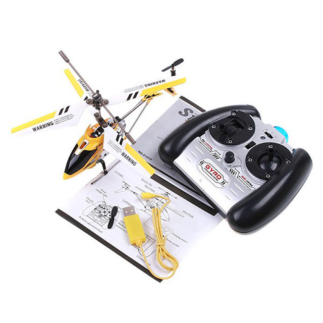 FREE SHIPPING 3.5CH Original SYMA S107G RTF RC Helicopter with gyro for Children gift toys Remote Control Helicopter