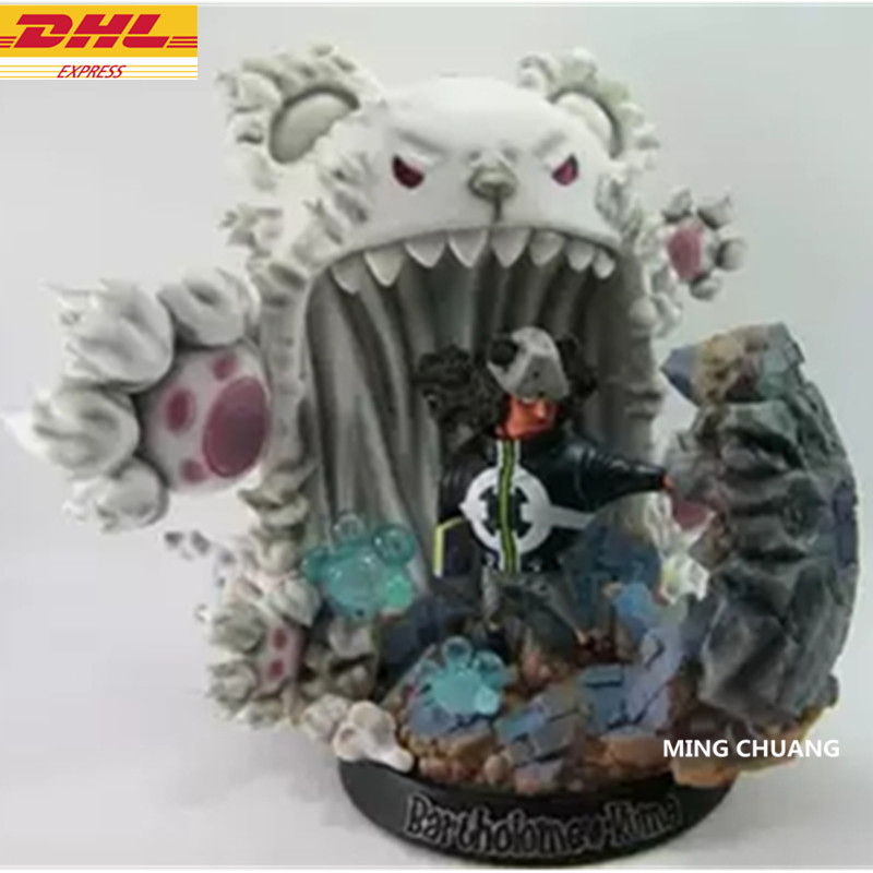 ONE PIECE Statue Bartholemew Kuma Seven Warlords Of The Sea Bust Luffy Enemy Full-Length Portrait GK Action Figure Toy D248ONE PIECE Statue Bartholemew Kuma Seven Warlords Of The Sea Bust Luffy Enemy Full-Length Portrait GK Action Figure Toy D248
