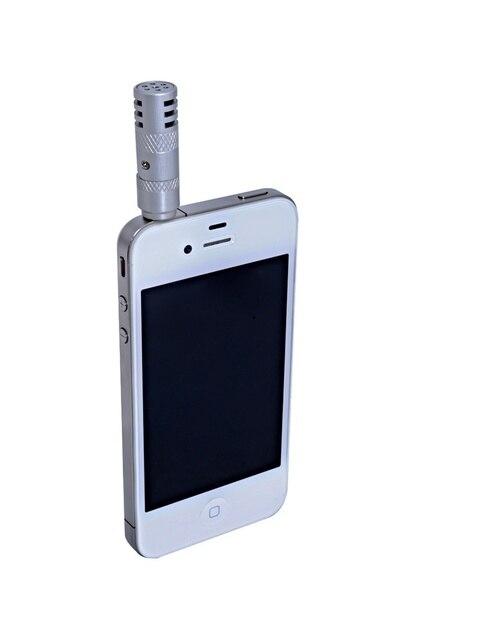 BOYA Мини Высокая Чувствительность Кардиоидный Микрофон для iPhone и Смартфонов