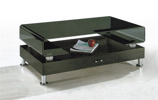 Ordinaire Stainless Steel Foot, Glass Tea Tables With Drawer, Sidetable, Table,  Livingroom Furniture
