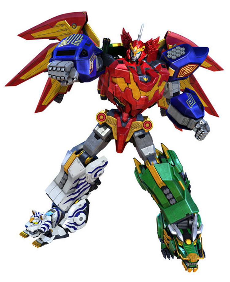 Transformation Celestial Warriors megazord robot Chinese