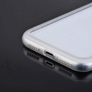 Image 4 - 실크 실리콘 범퍼 케이스 아이폰 6 6S 7 8 플러스 프로텍터 소프트 프레임 아이폰 X XR Xs Max shockproof Bumper Fundas Capa