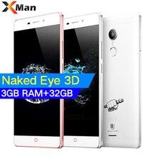 Orijinal ZTE V5 K3DX-V5G Smartphone 3 GB + 32 GB 5.5