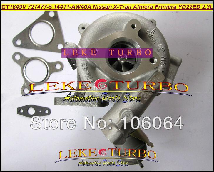 Turbo GT1849V 727477-5006S 727477-5007S 727477 Ölgekühlter - Autoteile - Foto 2