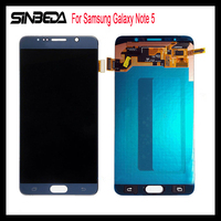 Sinbeda Super AMOLED HD Дисплей для samsung Galaxy Note 5 N9200 N920F N920T N920A N920V N920C ЖК дисплей Дисплей Сенсорный экран планшета