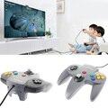 Novo Estilo Longo Lidar Com Vibrações choque Game Controller Pad Joystick para Nintendo 64 N64 Sistema