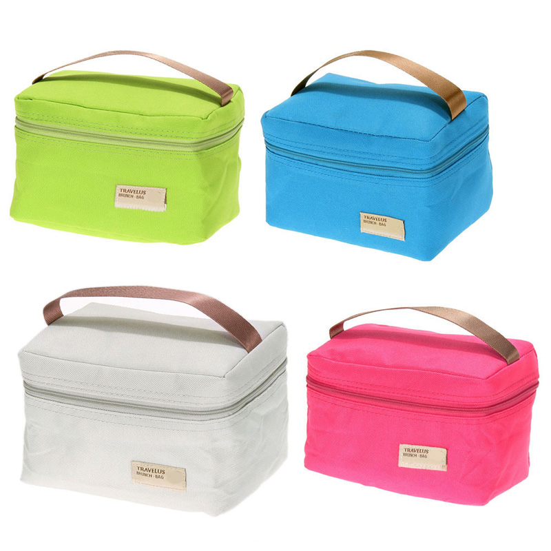 Thermal Cooler Waterproof Lunch Bag Picnic Insulated Carry Bag Portable Women kids Cooler Lunch Bag with Tote
