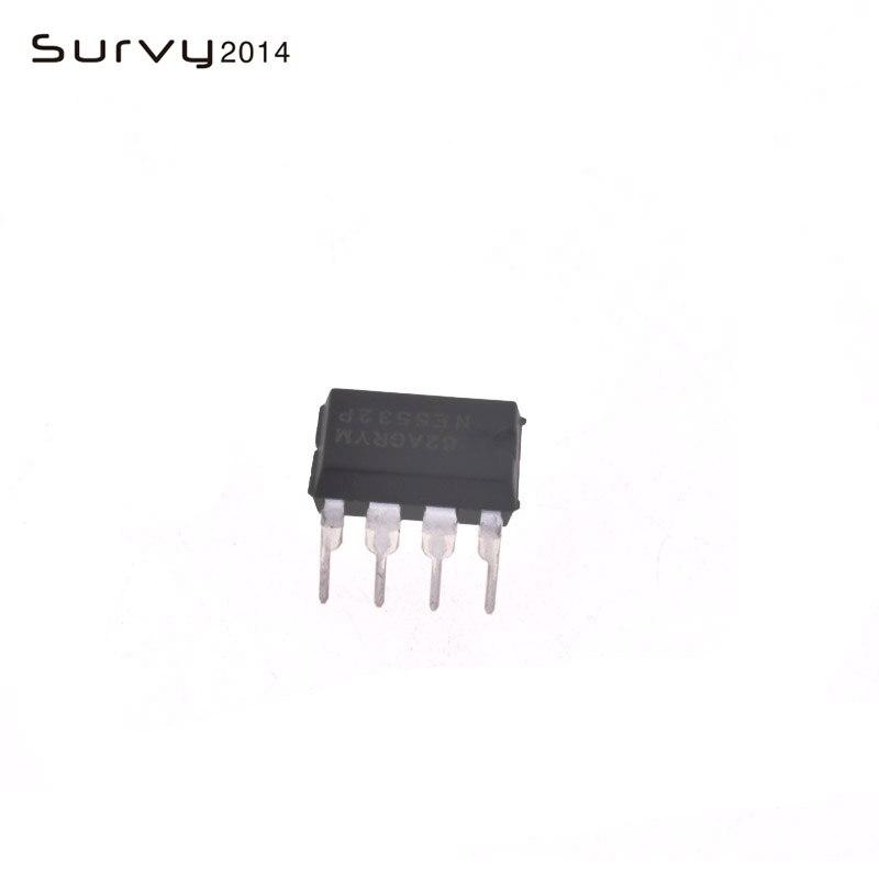10PCS NE5532 N5532 SOP-8 SMD Dual Low Noise Op-Amp TI IC Good Quality