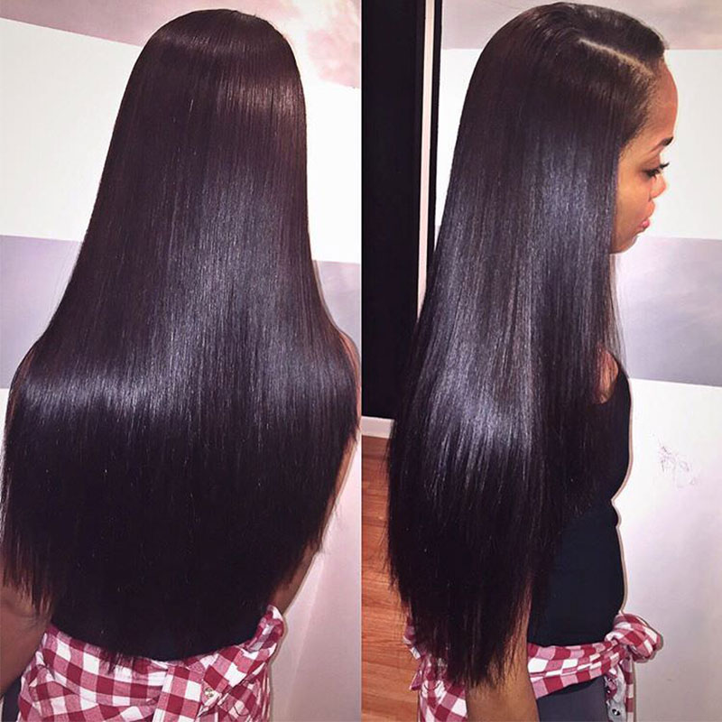Ably 8a Brazillian Hair Bundles Mink Brazilian Virgin Hair Straight 4bundle Deals Brazilian Human Hair Sew In Weave Good Cheap|8a brazillian hair|brazillian hairvirgin hair - AliExpress