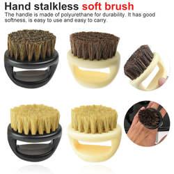 1 шт. Парикмахерская щетка для пыли антистатическая зубчатая щетина кольцо борода расческа салонная щетка для волос щетка для бритья щетка