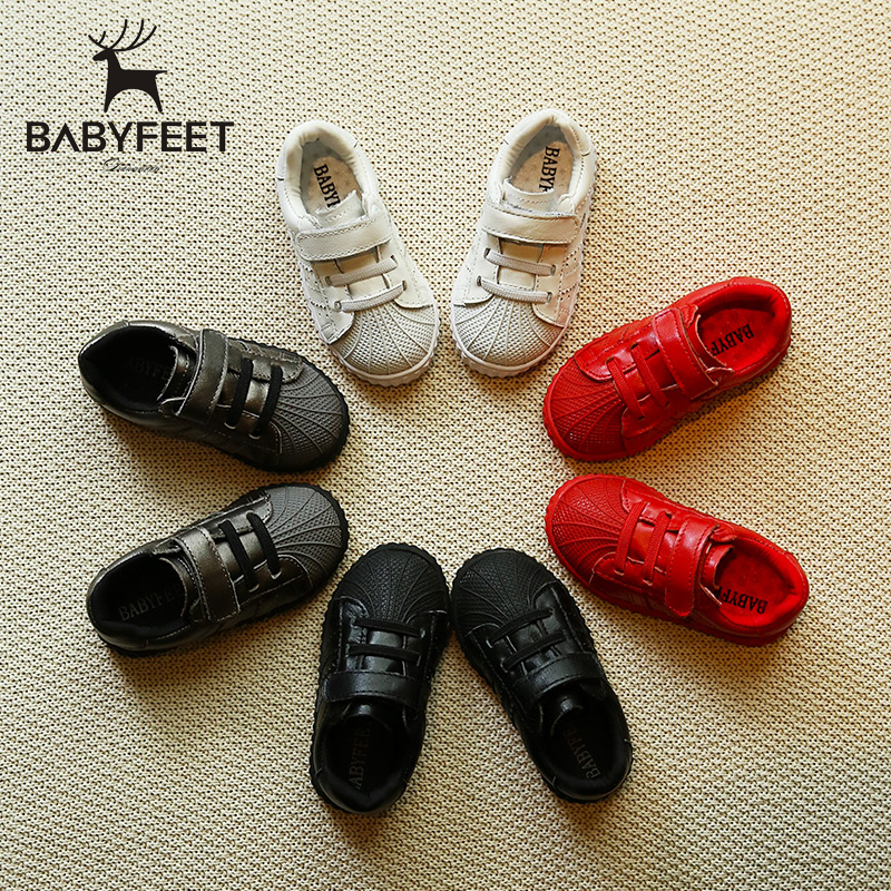 Babyfeet children 's sports shoes microfiber leather infant Child baby boys casual shoes girls kids sneakers breathable loafers  children s shoes girls boys casual sports shoes anti slip breathable kids sneakers spring fashion baby tide children shoes