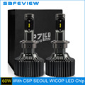 Car Headlight Bulbs 12V 30W D4S LED 6000K 4200LM CSP Fog light