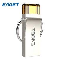 New EAGET V90 USB 3 0 100 USB Flash Drives OTG External Storage Micro USB 3