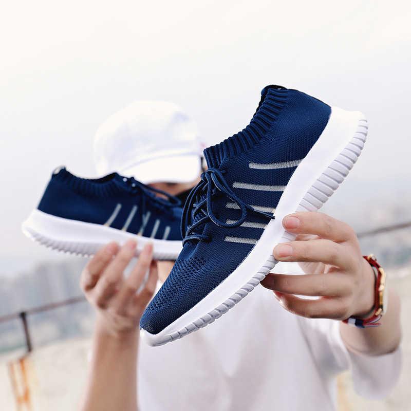Sainimo letnia moda super lekkie męskie trampki męskie buty buty męskie obuwie scarpe uomo Tenis Masculino zapatillas hombre