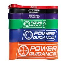5 Levels Unterstützte Pull Up Bands Widerstandsband Umreifungsbänder Fitnessgeräte für Bodybuilding Training Beine Arme Muskeln