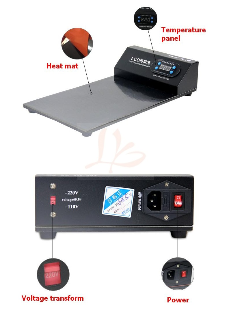 Newest LY 668 LCD preheat machine Screen Open Separate Machine Repair Tool Separator for Mobile Phone iPad Tablet
