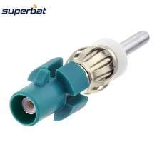 Superbat Antenna adapter Fakra Male Plug to din convertor plug lead