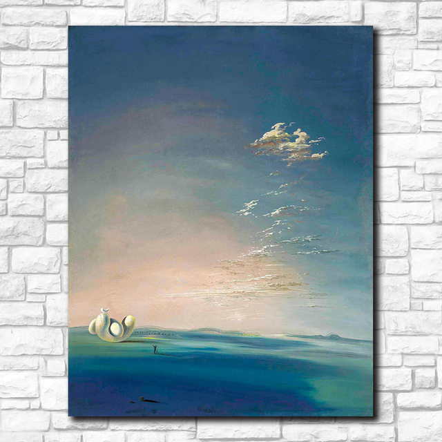 Salvador dali yang i yin empordane Canvas Painting For Living Room Home Decoration Oil Painting On Canvas Wall Painting No Frame 3