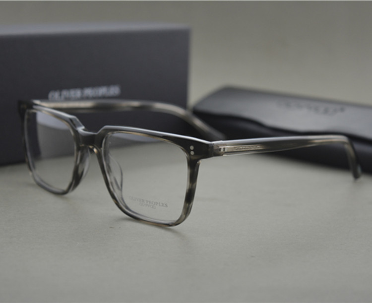 40a263fecb Famous Brand Optical Eyewear Oliver Peoples NDG-1-P Square Vintage Myopia  Glasses Frame Men and Women Retro Eyeglasses Frames