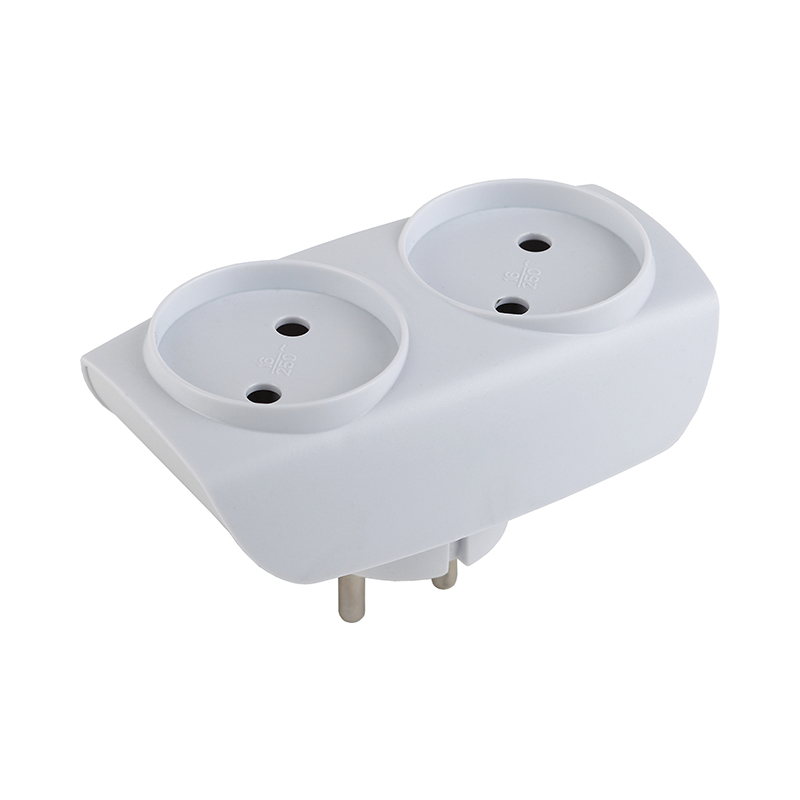 Plug with Sockets ERA SP-2-W белоснежка 313 st s букет с гладиолусами