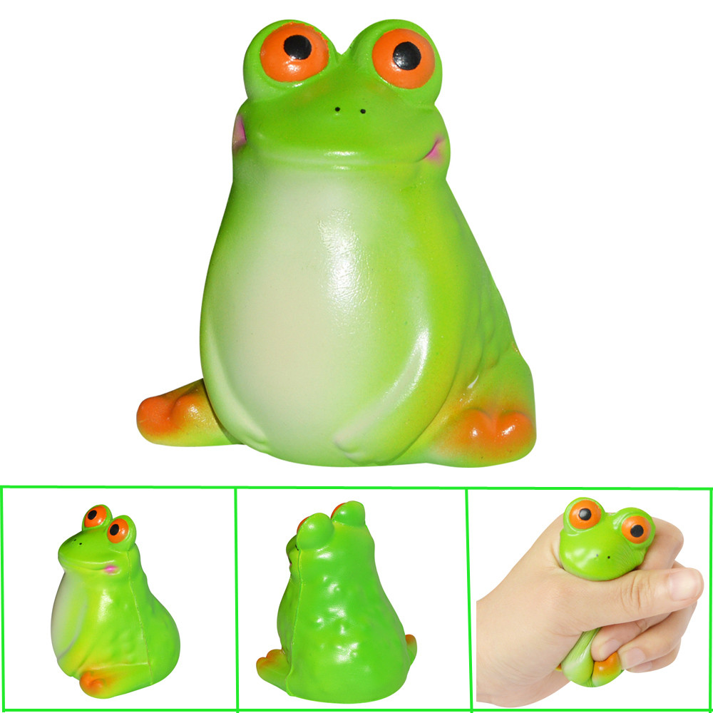 Adorable Big Eye Animal Scented Charm Slow Rising Squeeze Stress Reliever Toys Gift Present Funny Cute W521