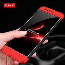 ФОТО fabmax rugged for huawei honor 8 case 360 full protection anti-knock three in one ultra thin case for honor 8 lite cover coque