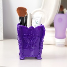 Free shipping BF050 The butterfly carved stereo makeup box storage  6.5*7*10cm