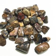 Natural semiprecious stone polished Pietersite stone crystal healing tumbles stone
