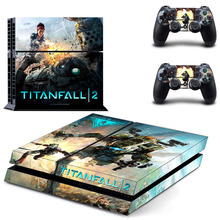 Titanfall 2 PS4 Skin Sticker Decal Vinyl For Sony PS4 PlayStation 4 Console and 2 Controller