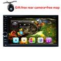 Бесплатная доставка 178*100 мм 7 дюймов 2 din android 5.1 автомобильный dvd плеер с СЕНСОРНЫМ радио для NISSAN TIIDA Elantra X-TRAIL QASHQAI NV200 LIVINA