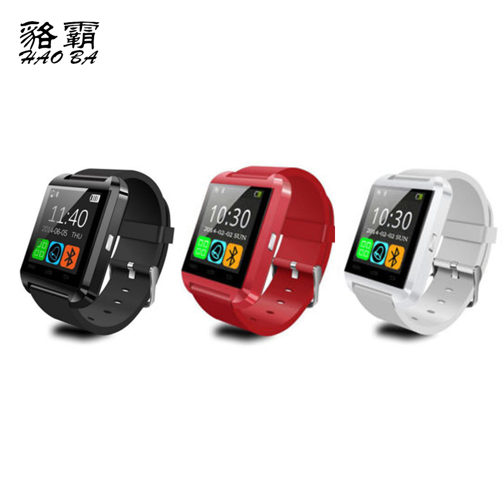 U8 Smart Watch Woman Man Sport Bluetooth Smartwatch Fitness Tracker Wearable Electronic Device for Android IOS Phone
