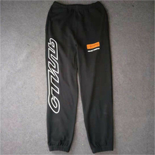 Hip Hop Streetwear Autumn Winter Casual Heron Preston Joggers CTNNB Embroidery