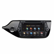 HD 2 din 8″ Car DVD GPS Navigation for Kia Ceed 2014 With Bluetooth IPOD TV Radio / RDS SWC AUX IN USB