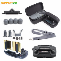 8in1 DJI Mavic Pro Drone Body Case Remote Controller Hardshell Booster Antenna Transmitter Holder RC Joystick Strap Motor Cap