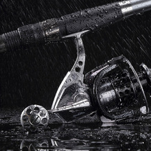 Metal Spinning wheel type Fishing Reel 15+3BB Bearing Speed Ratio 4.9:1/5.5:1 Exclusive Fishing Line Winder for Rock Ice Fishing