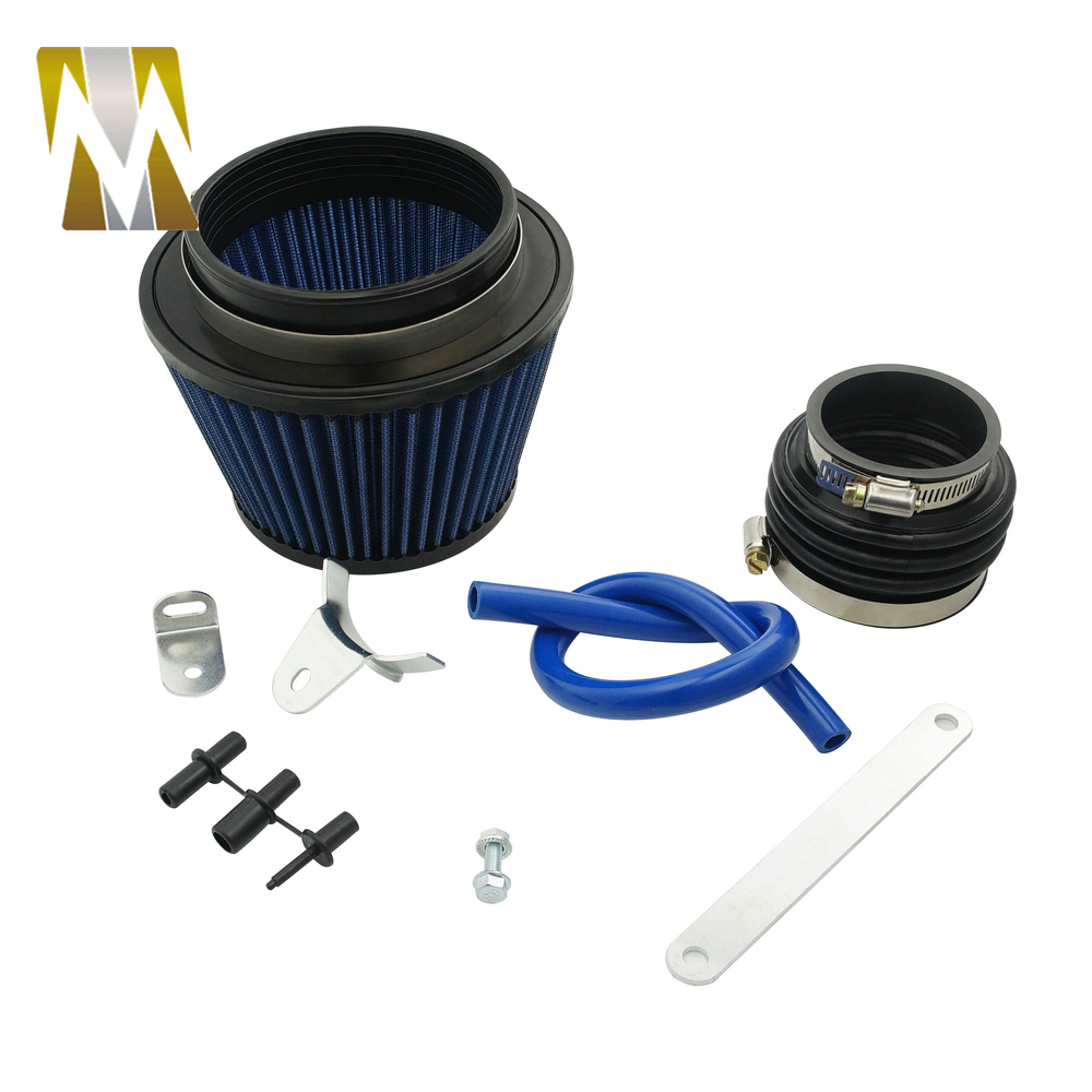 carbon fiber air intake pipe for honda civic 1992-2000 EK EG with air filter intake pipe (1)
