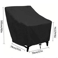 Nowe meble Oxford osłona pyłoszczelna na stół i krzesła wodoodporny deszcz ogród patio na świeżym powietrzu futerał ochronny wysokiej jakości w Uniwersalne pokrowce od Dom i ogród na