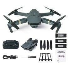 L800 WIFI FPV Drone RC Drone con cámara HD 0.3MP 2MP de ángulo ancho plegable Mini Drone modo sin cabeza G-sensor RC helicóptero Quadcopter