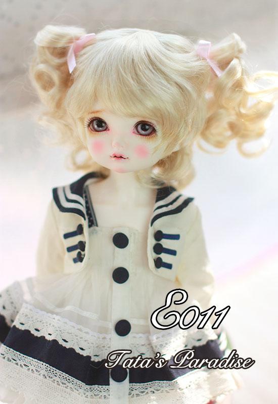 1/3  1/4  1/6 BJD/DD  doll  DIY High-Temperature  gold short  curly   hair for  girls 1 3 bjd doll dd dddy kirakira stiletto sandals rose gold sd16 sd10 sd13 dd