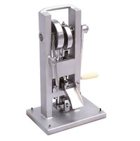 TDP 0 Tablet Press Hand Operated Pill Making Machine Mini Pill Press Machine Testing Tablet Press Ready Stock