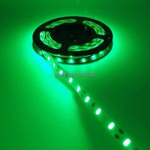 Гибкая светодиодная лента, 12 В, 5630 SMD, 12 В, 60 светодиодов/м, 5 м/лот, теплый белый/холодный белый/красный/зеленый/синий цвет