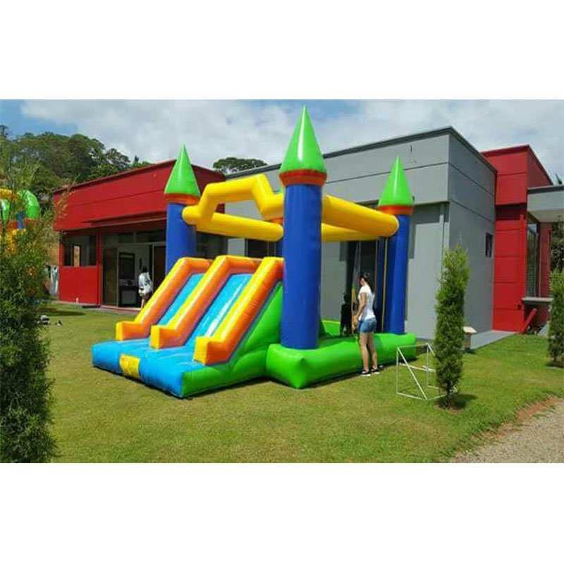 Children's inflatable jumping bouncer inflatable bounce playhouse for amusement park indoor playground