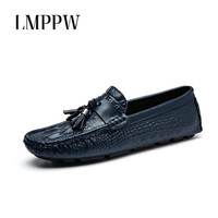 British Style Men S Casual Shoes Genuine Leather Loafers Top Quality Male Moccasins Men Leather Flats