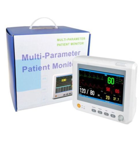 Veterinary Use Patient Monitor with ECG NIBP SPO2 Temperature and 5 sizes of small cuffs for Veterinaria Multi Parameter MonitorVeterinary Use Patient Monitor with ECG NIBP SPO2 Temperature and 5 sizes of small cuffs for Veterinaria Multi Parameter Monitor