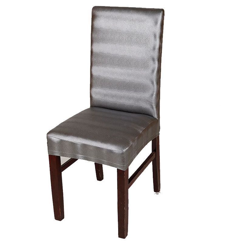 chair event Picture   More Detailed Picture about leather pu chair cover Elastic stoelhoezen