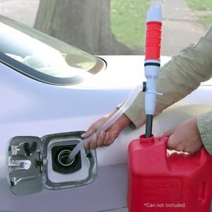 Image 5 - ドロップシッピングハンドヘルドポンプバッテリ駆動液体転送水ガスツールガソリン燃料ポータブル車のサイフォンホース屋外駐車 Aut
